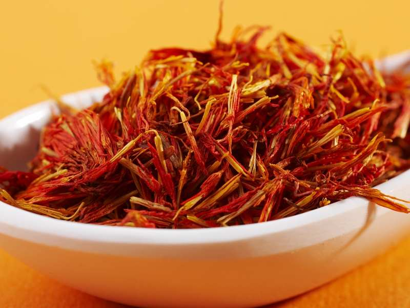 greek saffron filaments