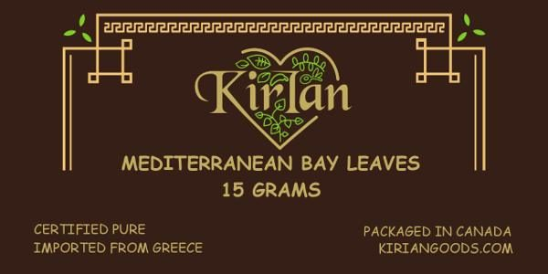 kirian mediterranean bay leaves 15 grams