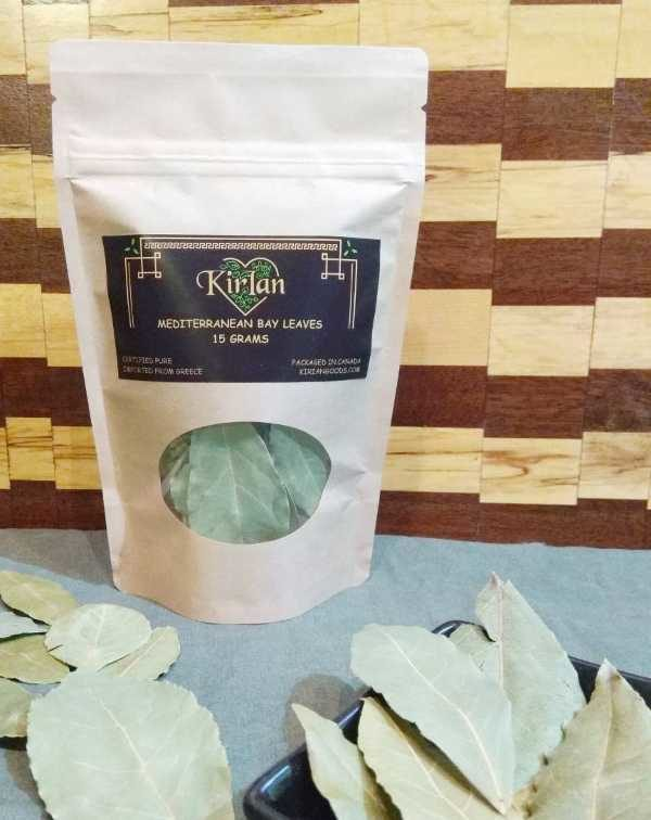 Mediterranean bay leaves from Greece