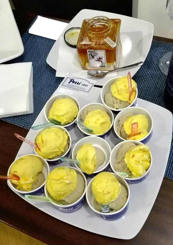 greek saffron infused ice cream