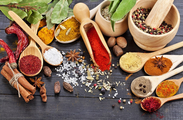 spices, blends